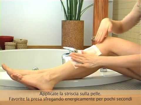 Come usare la cera a caldo per depilare le gambe (Video Tutorial DepilSoap)