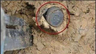 Nông dân đào đất phát hiện 'đồng tiền cổ', tưởng sắp phát tài, nhưng vừa chạm tay vào thì bỏ chạy