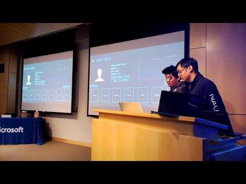 FitnessTracker - Microsoft Hackathon @ UC San Diego