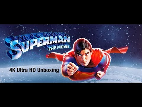 Superman: The Movie (1978) 4K Ultra HD Unboxing [Filmed in 4K at 60fps] thumbnail