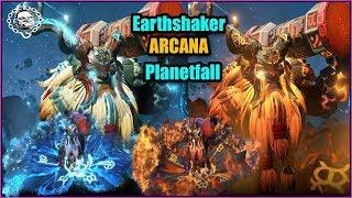 Earthshaker ARCANA  - Planetfall - TI9 Battle Pass - Dota 2