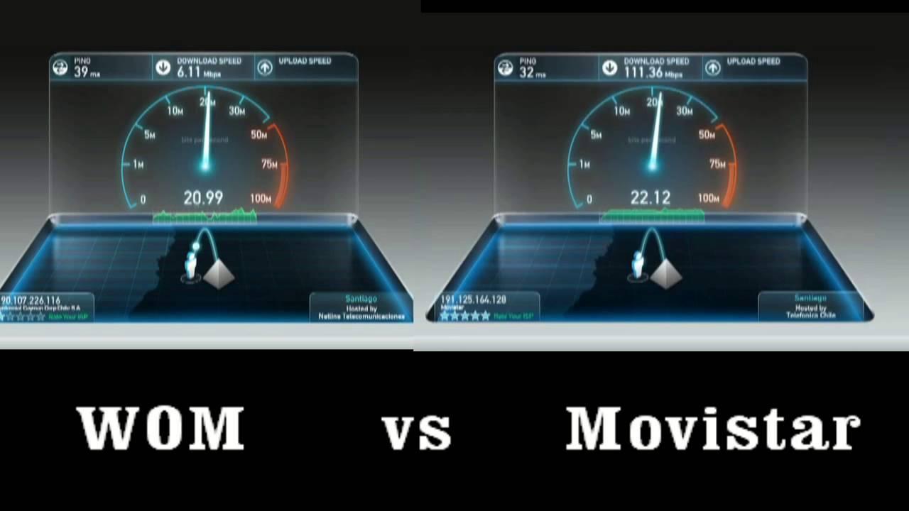 Speedtest movistar