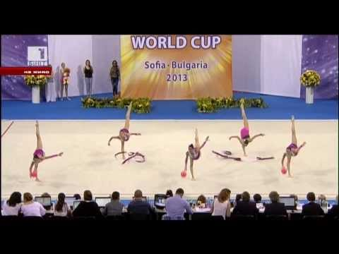 Event Finals-Individual and Group-World Cup Sofia 2013-TV coverage
