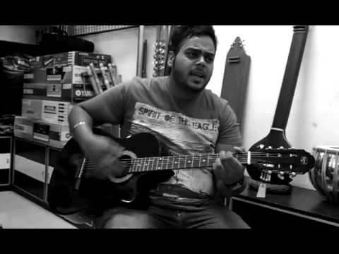 Haye Mera Dil (alfaaz) On Guitar ,,,,,,by Honey Channa video