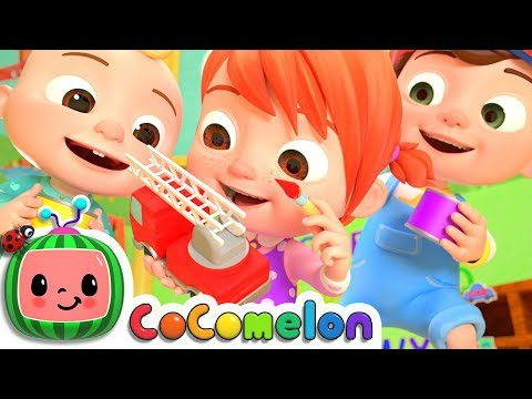 The Car Color Song | CoCoMelon Nursery Rhymes