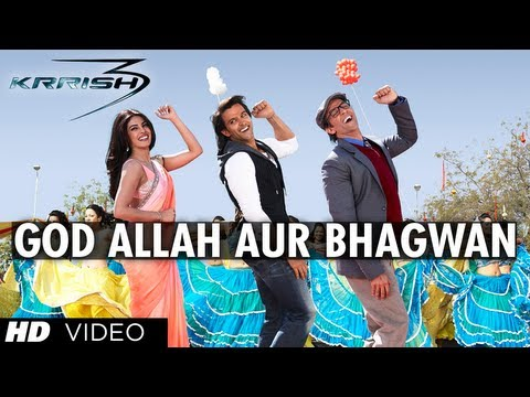 god Allah Aur Bhagwan Krrish 3 Video Song | Hrithik Roshan, Priyanka Chopra, Kangana Ranaut video