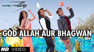 "download lagu ""god Allah Aur Bhagwan Krrish 3""  Song  gratis"