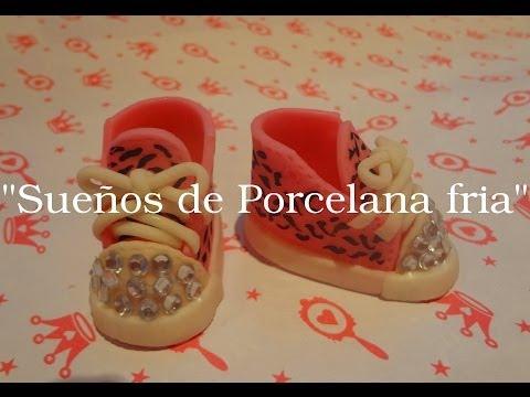 Zapatillas en Porcelana fria