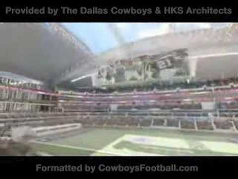 New Dallas Cowboys Stadium Video