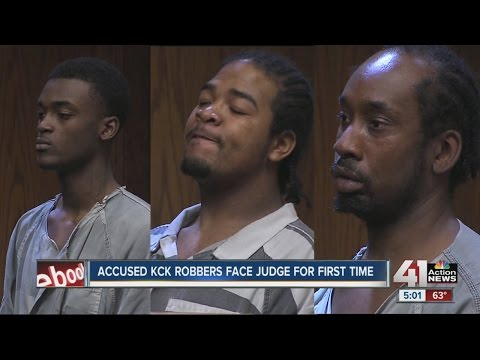 KCK robbery suspects make first court appearance