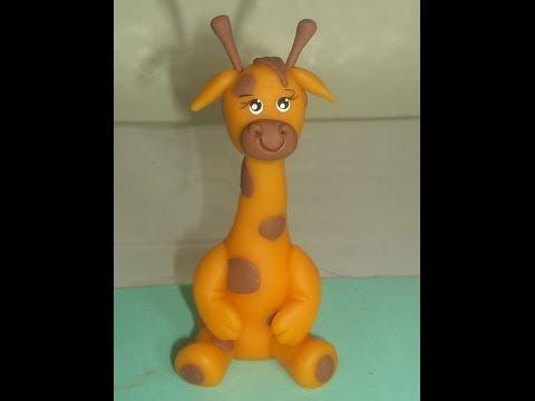 Girafa (Safári) -  Aula de Biscuit