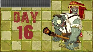 [Android] Plants vs. Zombies 2 - Lost City Day 16