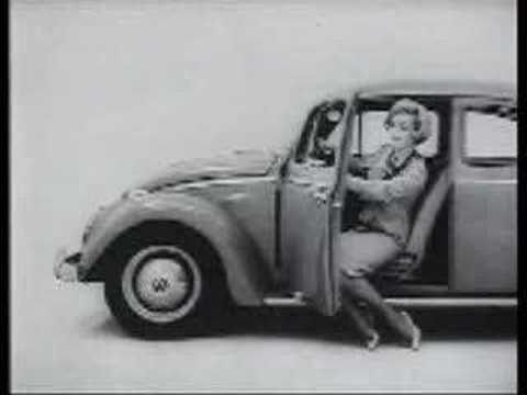 very old early sixties vw beetle commercial !! - YouTube