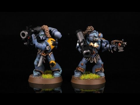 How to paint Space Wolves Long Fangs? Warhammer 40k   wh40k   buypainted   painting tutorial