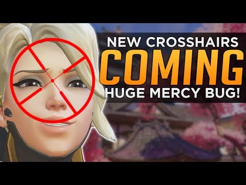 Overwatch: Mercy Rez BROKEN - New Crosshair Options Coming!