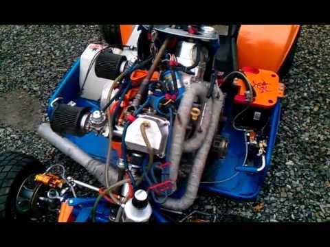 Kubota Supermodified Twin Arma Fxt Uslmra Racing