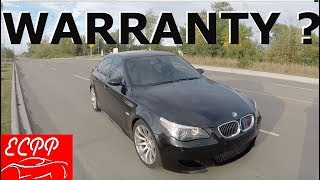 Extended Warranty For E60 M5 | Insanity To Buy Or Not