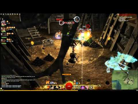 Caudecus's Manor Dungeon Run Guild Wars 2