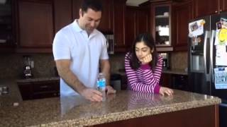 Dad pranks daughter