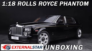 Unboxing and review of a $300 Rolls Royce Phantom EWB 2012 1:18 by Kyosho
