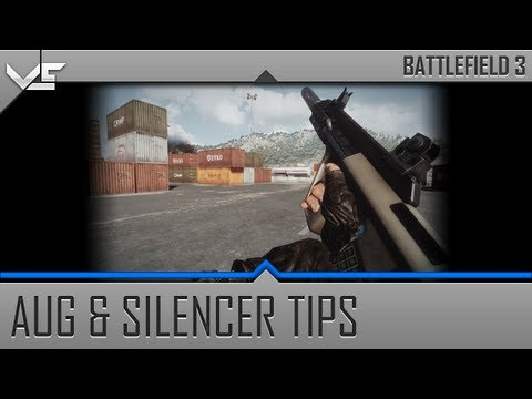 Battlefield 3 AUG Assault Rifle and Silencer Tips