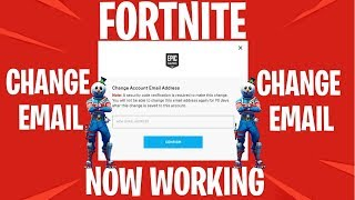 FORTNITE How To Change Epic Games Email Season 7 (WORKING)