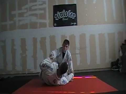 Half Guard Tilt Sweep to Armdrag to Rolling Backtake to Multiple Submission Options Image 1