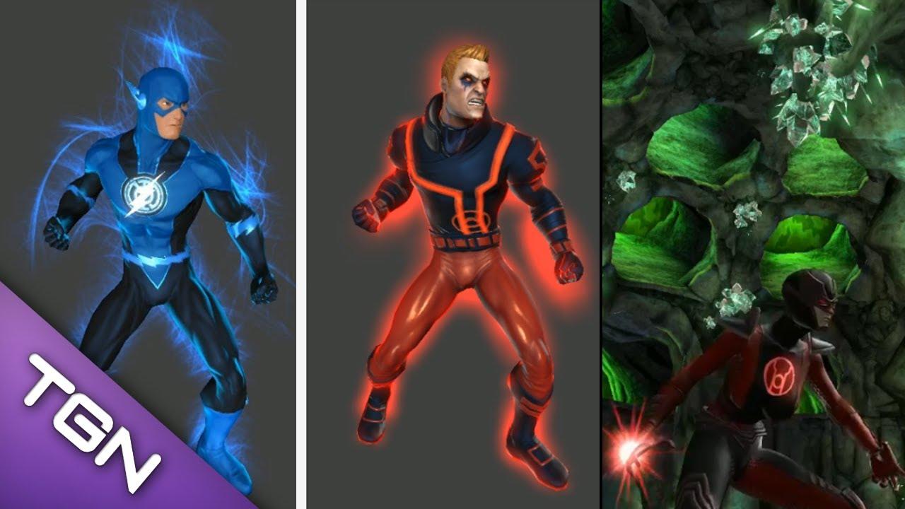 Red Lantern Corps  ENCYCLOPÉDIE  MDCU COMICS