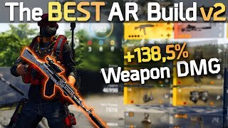 The BEST Assault Rifle PvP Build v2 (Post-Patch)   Division 2