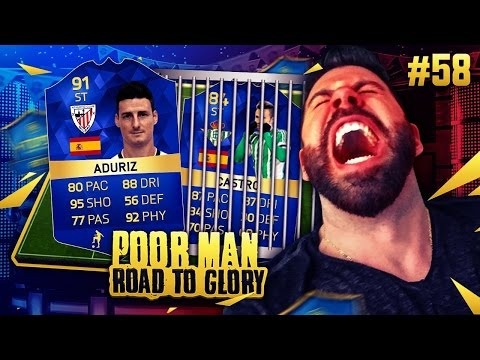 TOTS ADURIZ IS SO CHEAP AND SO OP!! TOTS CASTRO UNLOCK!! - POOR MAN RTG #58 - FIFA 16 Ultimate Team
