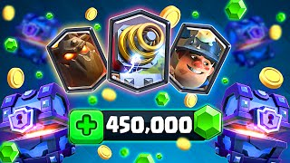 CHEST OPENING :: Clash Royale :: SO MANY LEGENDARIES