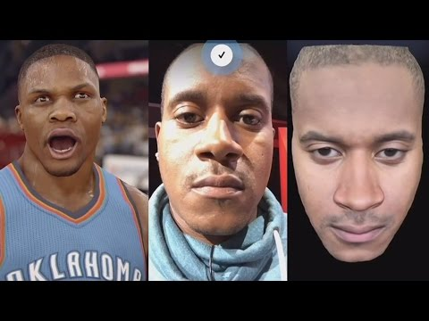 NBA Live 16 FULL E3 Conference - Game Face HD
