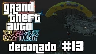 Paraquedas da Aids - GTA 4 TBoGT / Walkthrough (Xbox 360/PS3/PC) - Parte 13