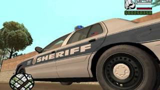GTA SA Custom Catawba county sheriff North carolina texture