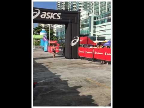 My farewell race from my time living at Panama. FINISH LINE at Maraton Internacional de Panama 2014