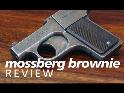 Review: the Mossberg Brownie - a 4-barrel .22-caliber derringer