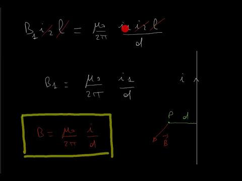FISICA: Intensità del campo magnetico, legge di Biot e Savart.