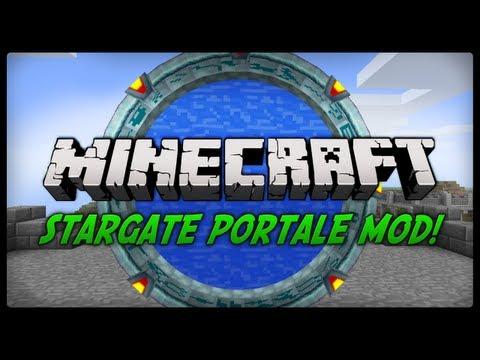 Minecraft: Mody 1.4.7 - STARGATE PORTALE!!