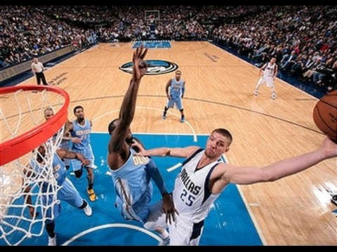 Chandler Parsons Throws Down the Thunderous Jam on JJ Hickson