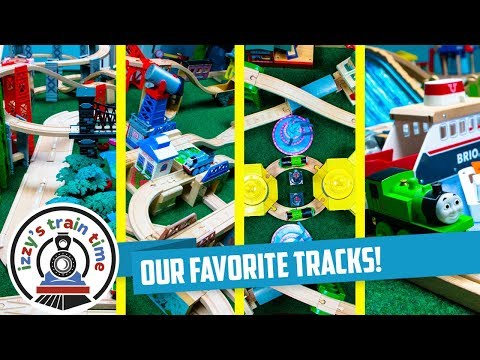 Thomas and Friends | DADDY'S FAVORITE TRACKS WITH THOMAS TRAIN | Fun Toy Trains for Kids with Brio