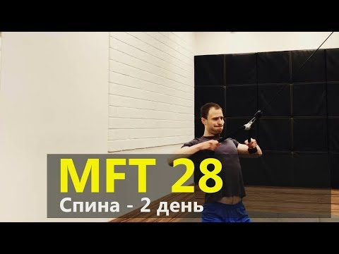 Тренировка спины. МФТ-28. Дрищ и Жиробилдер. День 2.