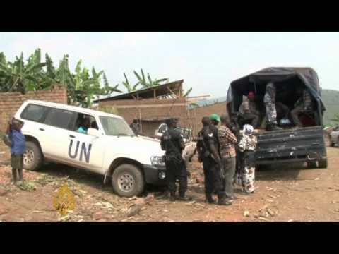 Fighting sends DR Congo families fleeing
