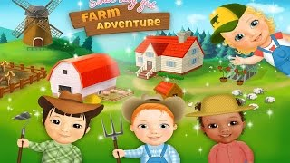 Sweet Baby Girl Farm TutoTOONS Kids Games Android İos Free Game GAMEPLAY VİDEO