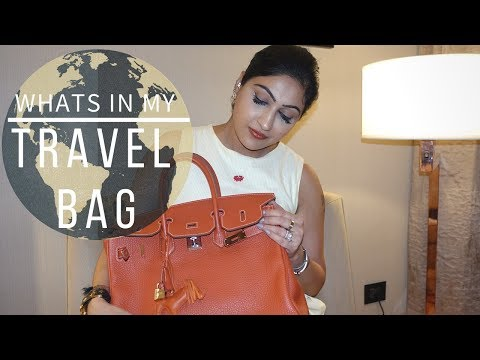 WHATS IN MY TRAVEL BAG |  Sonal Maherali
