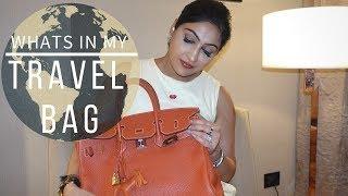 WHATS IN MY TRAVEL BAG |  Sonal Maherali