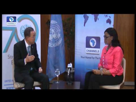 Diplomatic Channel:  Ban Ki-moon Speaks On Nigeria's Role In The UN -- 31/08/15