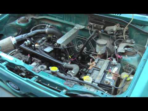 Super Milage Car - Diesel Ford Festiva 60 MPG City