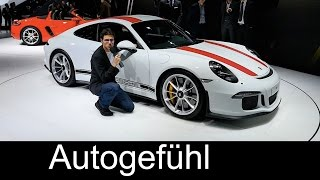 Porsche 911R REVIEW Exterior/Interior: Why this is the ultimate 911 - allnew/neu limited