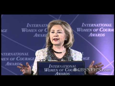 Hillary Clinton celebrates International Women's Day