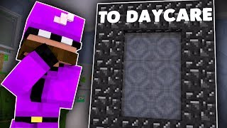 Minecraft Friends - BACK TO THE DAYCARE !? (Minecraft Roleplay)